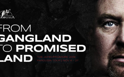 From Gangland to Promised Land | The John Pridmore Parousia 2019 Tour