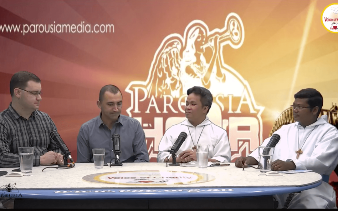 The Parousia Hour: Special Guest Fr Henry Lozano and Brother Francis Tirkey from the Missionaries of the Poor