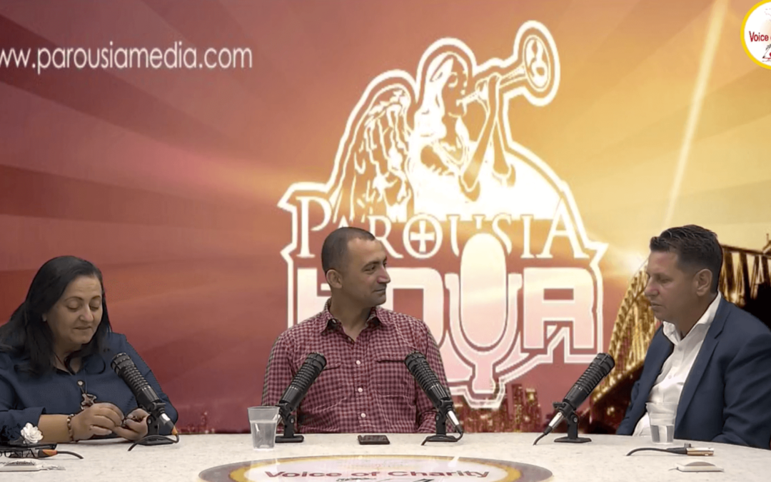 The Parousia Hour:Special guest Tony Dingle