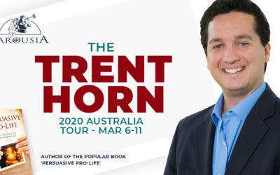 The Trent Horn 2020 Australian Tour