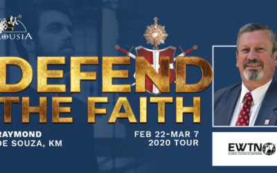 The 2020 Defend the Faith Raymond de Souza  Tour