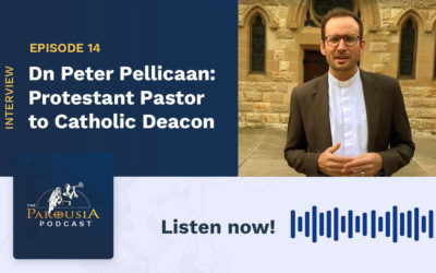 Dn Peter Pellicaan: Protestant Pastor to Catholic Deacon