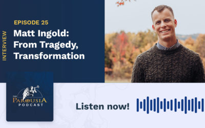 Matt Ingold: From Tragedy, Transformation