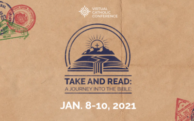 "Steve Ray presents ""Take and Read: A Journey Into the Bible"" a Virtual Catholic Conference"