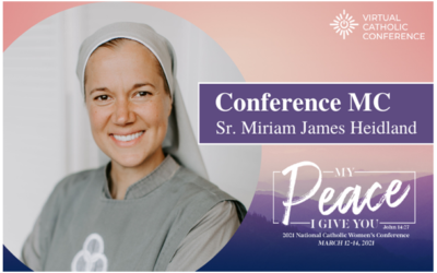 ⛪🔥🌏👩‍🦰😇 2021 National Catholic Women's Conference