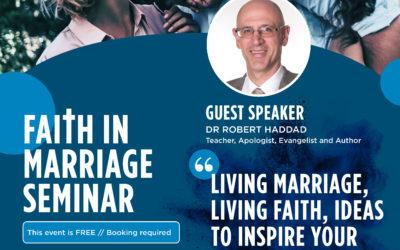 Faith in Marriage Seminar – Parramatta Cathedral – 13 August 2021